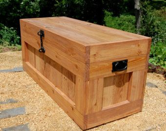 17 Best Ideas About Wooden Trunks On Pinterest