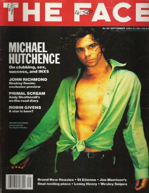 Michael Hutchence The Face