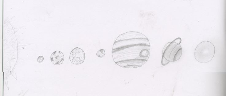 'The Hitchhiker's Guide To The Galaxy' Planets sketches