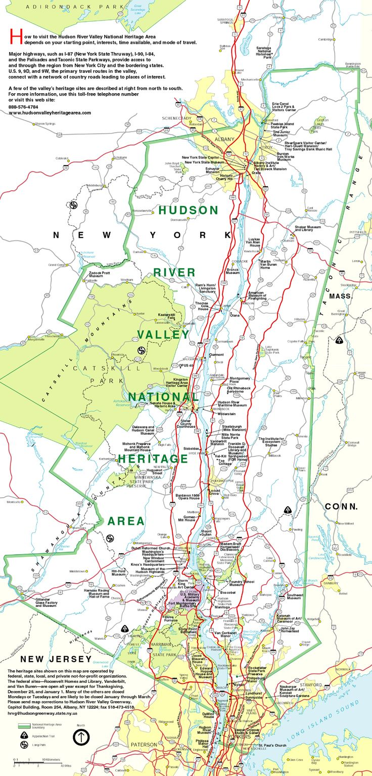 Hudson river valley map hrvi idaho travel moving to