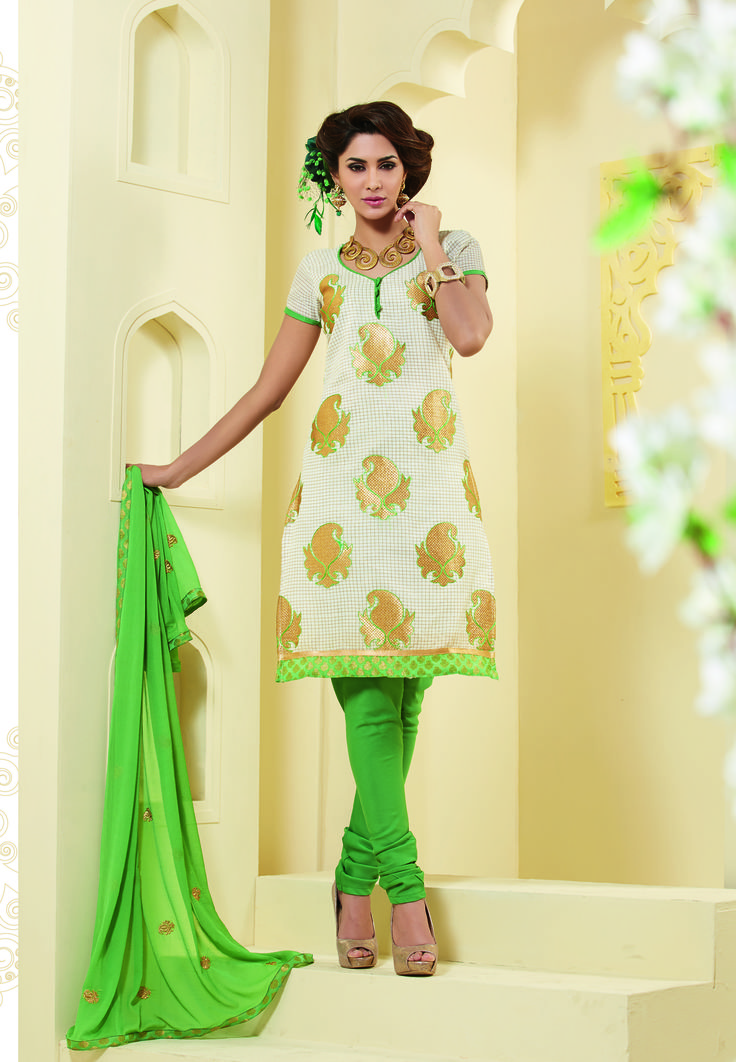 Color combinations yellow white dress