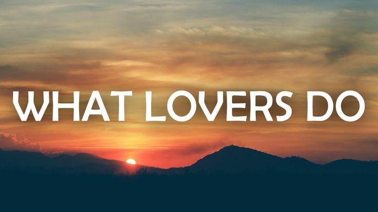 Maroon 5 - What Lovers Do (Lyrics / Lyric Video) feat. SZA - YouTube