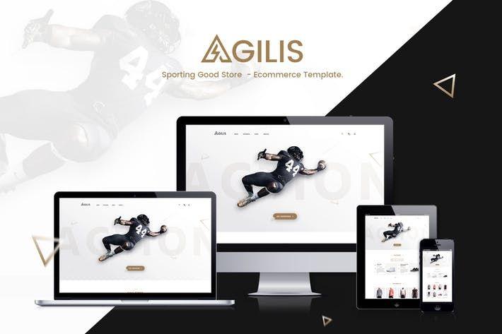 Agilis  Sport Good Store PSD Template #theme #ecommerce Download : http://1.envato.market/c/97450/298927/4662?u=https://elements.envato.com/agilis-sport-good-store-psd-template-N5JB7M