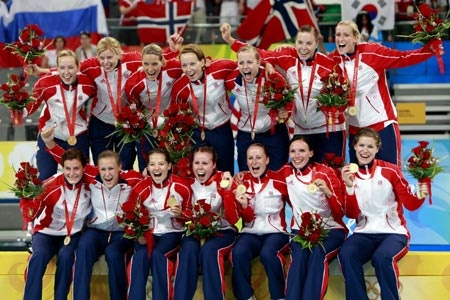 Norway Women | Norway wins Olympic women's handball gold_English_Xinhua