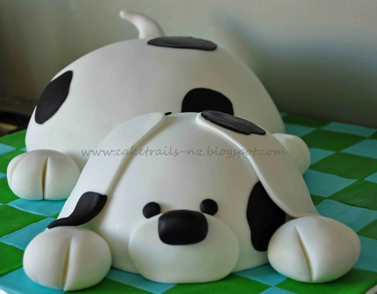 Love this puppy cake!  I see another puppy cake in my future.