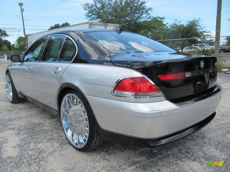 2003 BMW 7 Series 745i Sedan Custom Wheels Photo 51964091