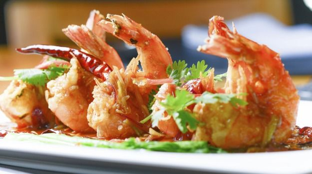 Fresh or frozen, shelled or deshelled, prawns are small, pink, juicy, moist and possibly the easiest things to cook.