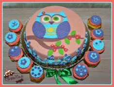 Торт с совой