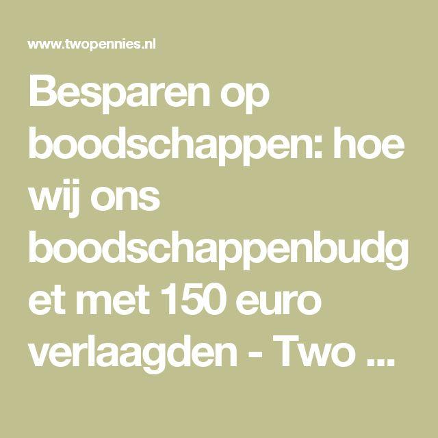 Besparen op boodschappen: hoe wij ons boodschappenbudget met 150 euro verlaagden - Two Pennies