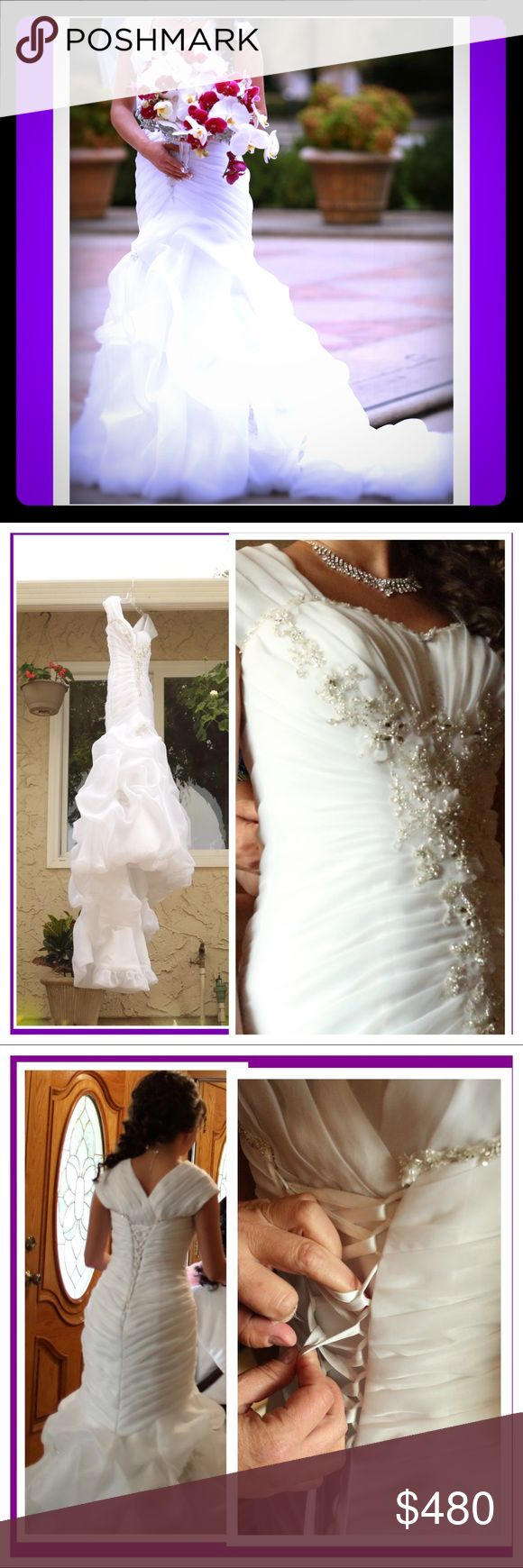 Impression Bridal Wedding Dress The dress is in good condition; dry cleaned. Impression Bridal Dresses Wedding