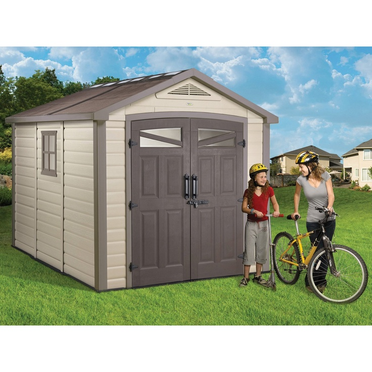 Storage sheds, Sheds and Loft on Pinterest