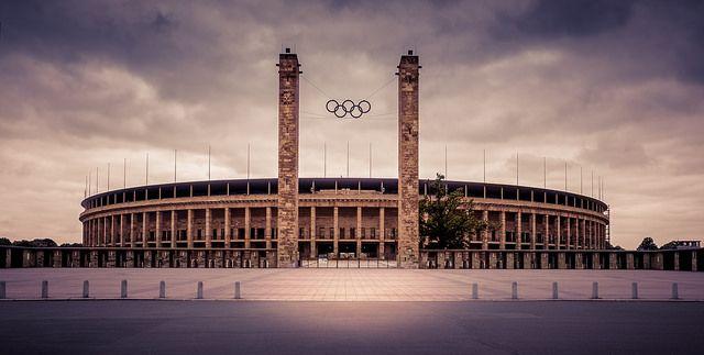 Olympic stadium Berlin #olympic #stadium #berlin #germany #architecture #historic #panoramic #city