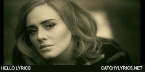 Hello Lyrics – Adele – 25 Album – 2015 image