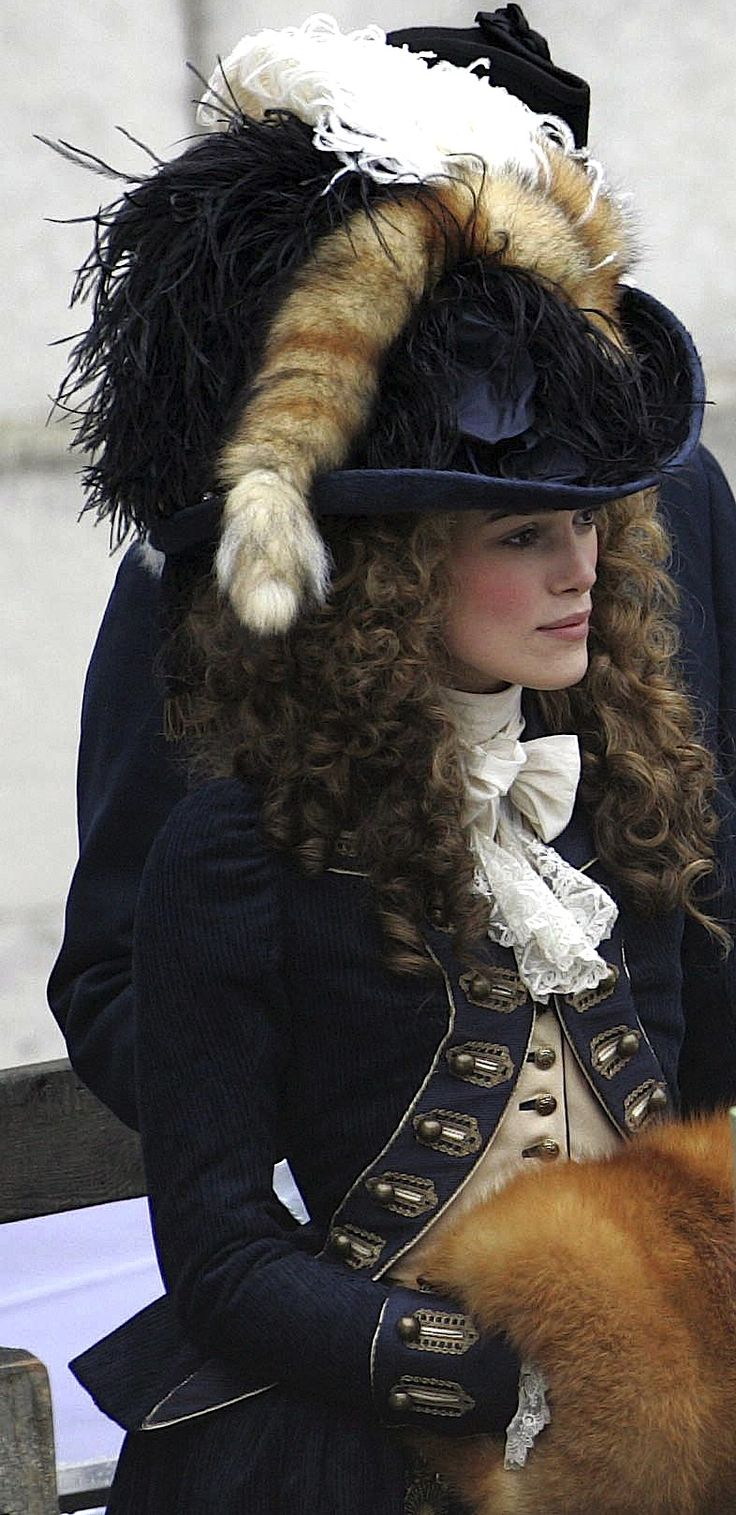 Keira Knightley as Georgiana Cavendish in The Duchess - 2008