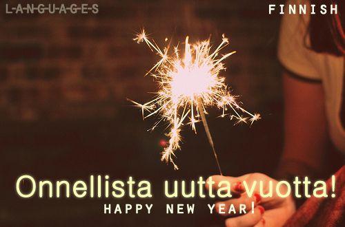 Onnellista uutta vuotta