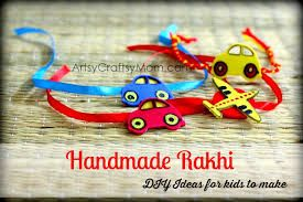 Image result for rakhi design homemade