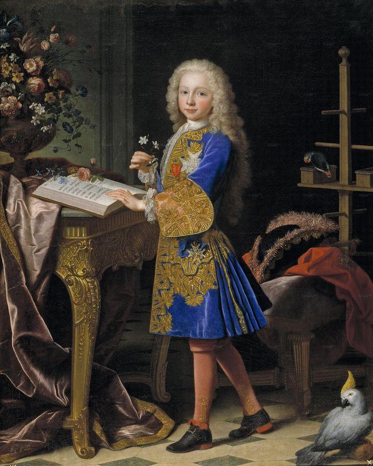 Jean Ranc. Carlo III all'età di 13 anni. Madrid, Museo del Prado