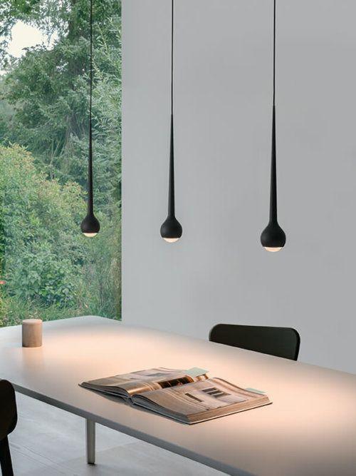 lampen design esstisch küche