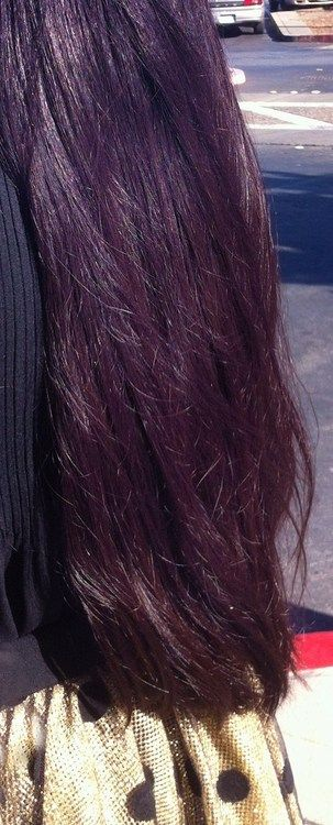 Manic Panic Purple Haze over virgin black hair
