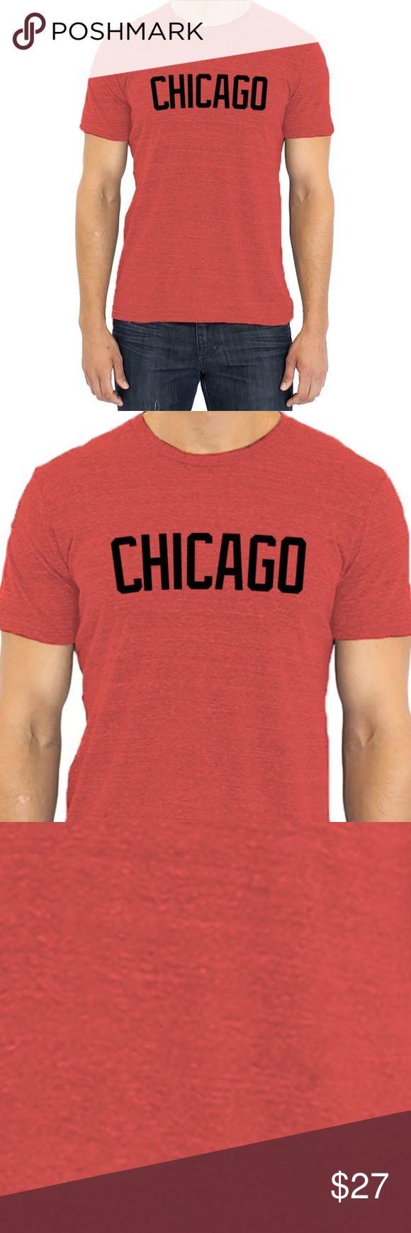 Chicago Vintage Block Letter Tri-Blend Shirt NWT Chicago Vintage Block Letter Shirt | Vintage Red Tri-Blend Chicago Sports Fashion T-Shirt | Air Jordan Shirt | Chicago Sports Pride Shirt | Chicago Bulls Shirt | Chicago Blackhawks Shirt | Chicago Bears Shirt | Chicago Cubs Shirt | Chicago White Sox Shirt | Michael Jordan Shirt | Chicago Illinois Shirt | Vintage Chicago Shirt  NWT  Fabric Color: Red Tri-Blend  50% polyester 37% cotton 13% rayon  Sizes: XS, S, M, L, XL, XXL, XXXL Shirts Tees…