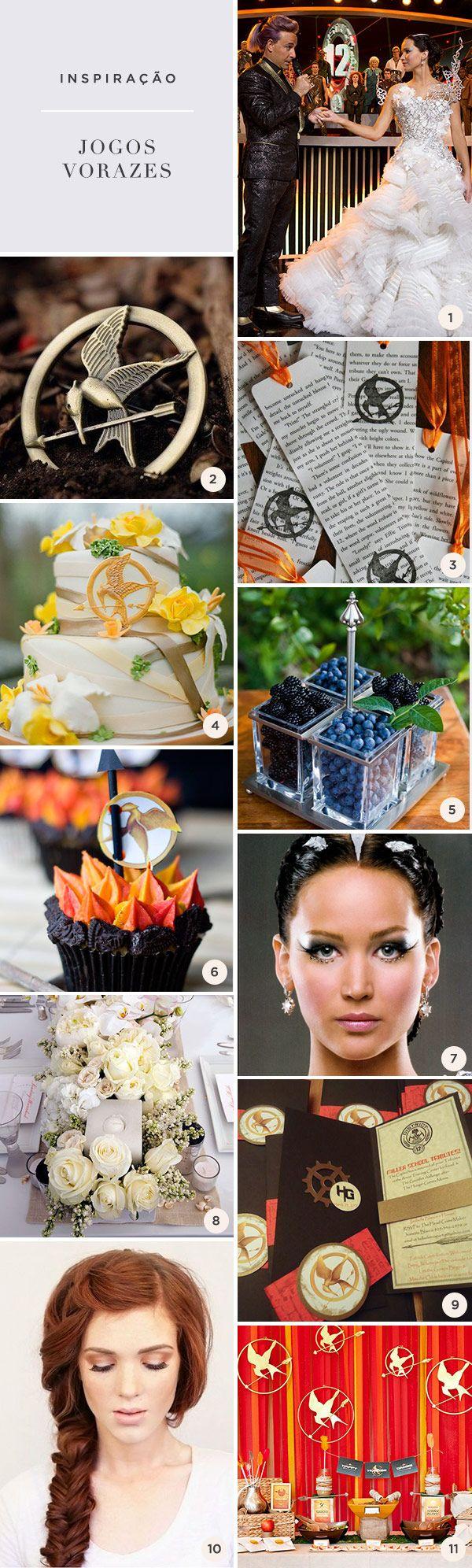 Quem é fã da sagade Katniss Everdeen, seja em livro ou filme, com certeza já pensou em fazer uma festa de 15 anos com o temaJogos Vorazes. A boa notícia