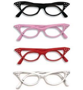 cat eye glasses for sock hop favors