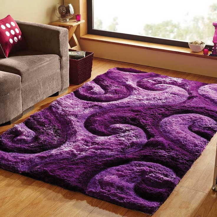 Super Lush Rug! But not a fan of purple