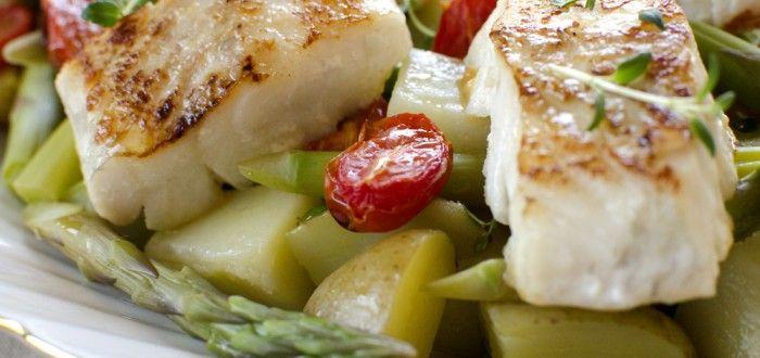 torsk med potetsalat