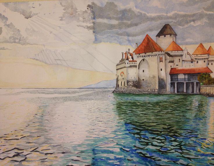 Castle - Castillo 75x55 cm