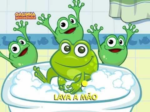 Lava a mão - DVD Galinha Pintadinha 3 - YouTube