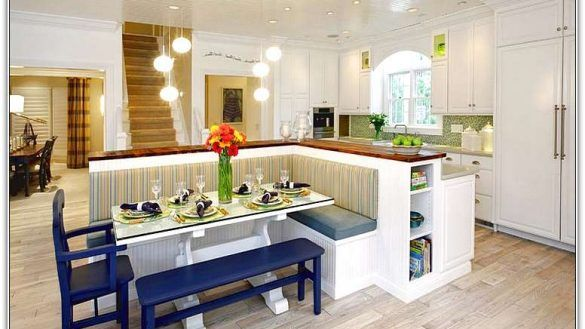 Interior Kitchen Island With Bench Seating And Table New Wonderful Inside 1 From Kitchen Kitchen Island With Bench Seating Kitchen Seating Building A Kitchen