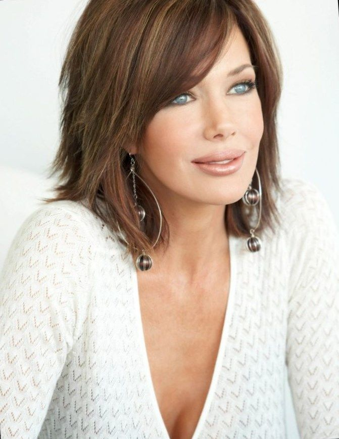 The 25+ best Shoulder length layered hairstyles ideas on Pinterest ...