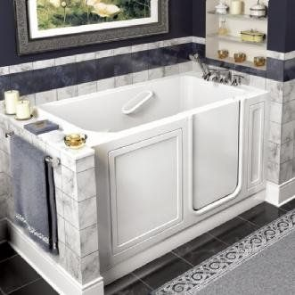 American Standard walk-in baths make it safe and easy to enter and exit the tub and experience the benefits of bathing ~ http://walkinshowers.org/best-walk-in-tub-reviews.html
