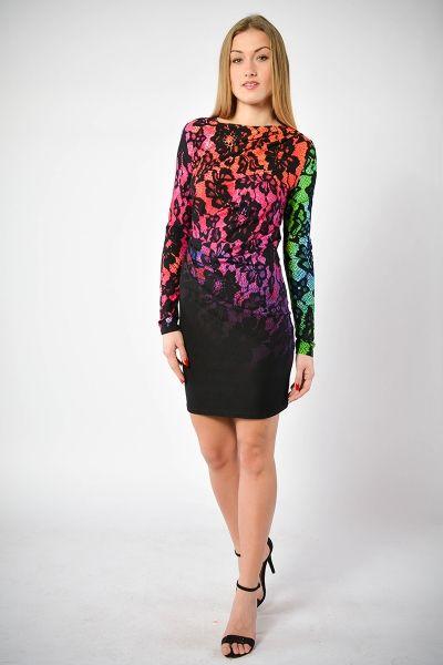 Milli- Multicolor - sukienka z kolorowym printem