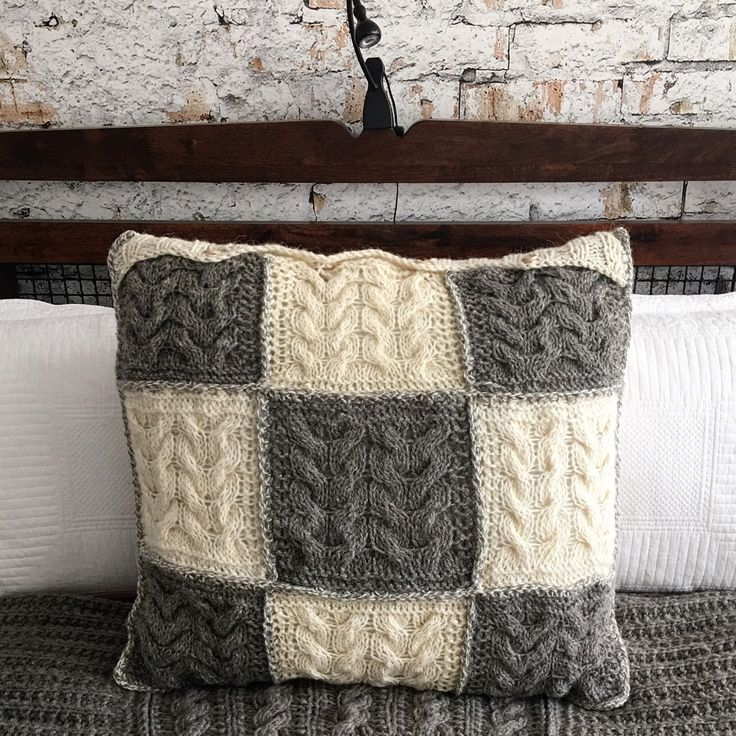 The bedroom addition - checkerboard, granny's square pillowcase from real sheep wool which is not treated with any chemicals. It looks very attractive with other knitted accessories from my wool range. https://www.etsy.com/uk/shop/LooseLoop