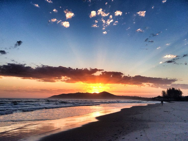 Spring sunrise @ Byron