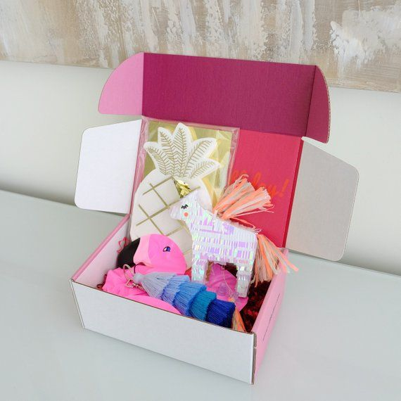 Personalized Birthday Gift For Her Birthday In A Box Best Friend