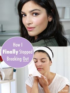 Who doesn't want to stop break outs! Acne, even as an adult, is just the worst. Hormonal imbalances, stressors and poor nutrition all factor into this, but we found ways to be pimple-free! http://www.ehow.com/how_8125113_stop-breakouts-face.html?utm_source=pinterest.com&utm_medium=referral&utm_content=freestyle&utm_campaign=fanpage