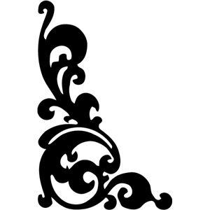 Silhouette Design Store: ornament corner