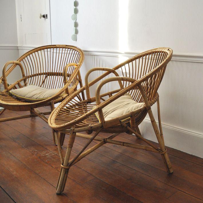 1000 id es sur le th me fauteuil boule sur pinterest fauteuils canap conv - Fauteuil boule rotin ...