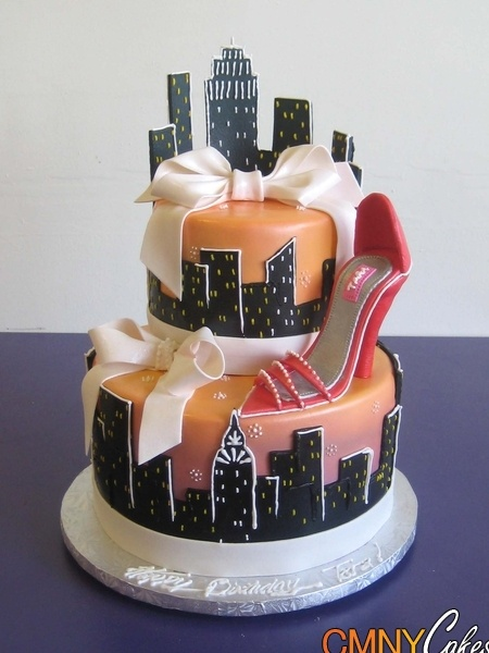 Sex and the city cakes photos