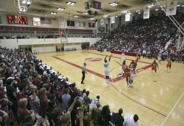 McGonigle Hall (Philadelphia, Pennsylvania) Attended a Temple Owls basketball game with Anna circa 1990 shortly after graduating with our MBA's from Temple.