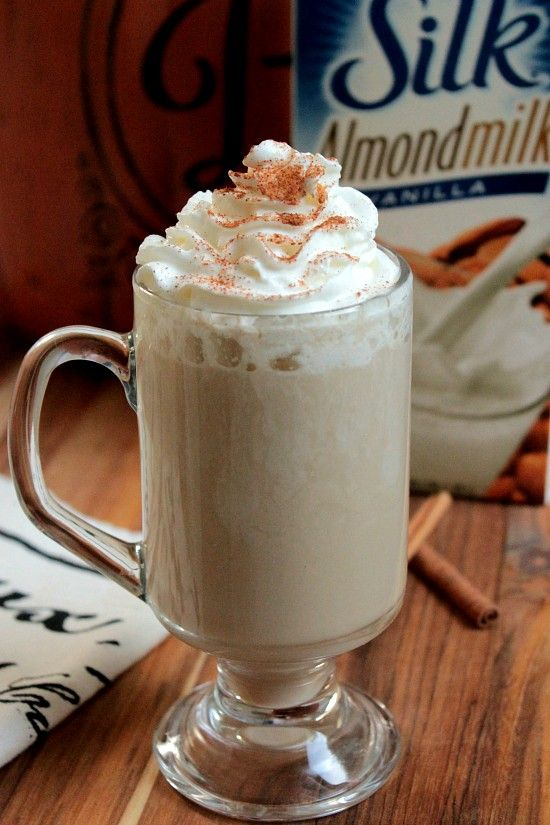 Homemade Vanilla Chai Latte @LoveMySilk #plantprotein