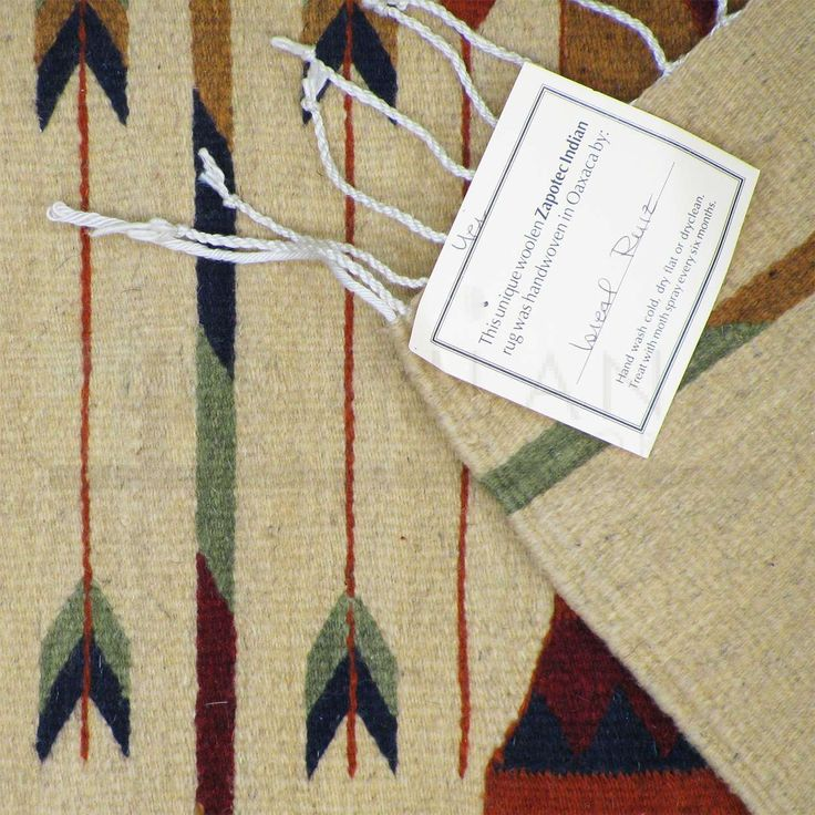 Sunland Home Decor: Premium Zapotec Wool Rug - 30in x 60in - Yei
