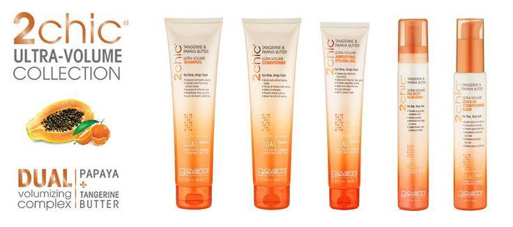NEW Giovanni 2chic Ultra-Volume Hair Care Range