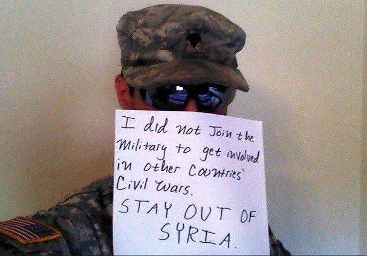 Американская армия открыла глаза: «Обама, мы не будем сражаться за Аль-Каиду»