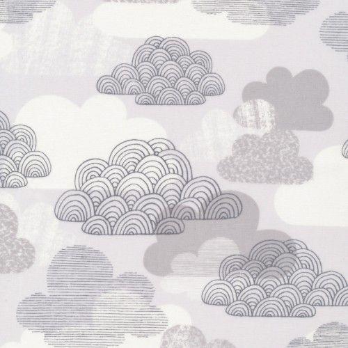 Laminate cotton - cloud grey