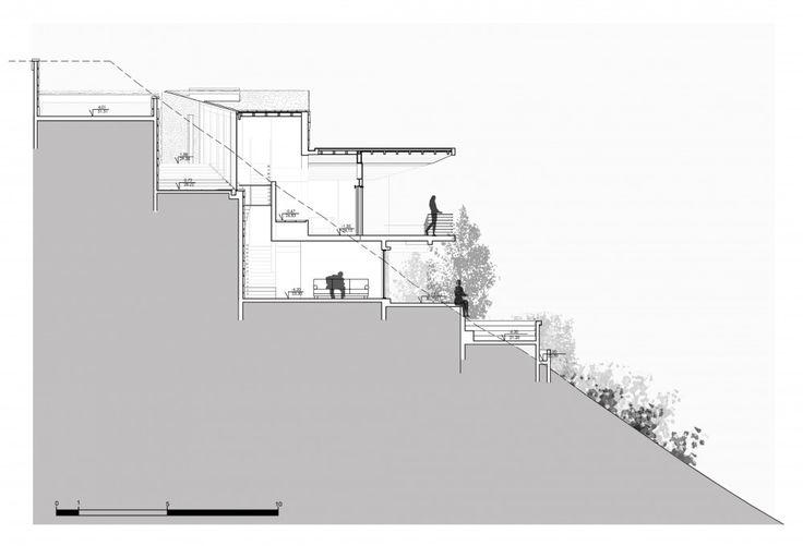 Casa Beranda / Schmidt Arquitectos Asociados Corte CC