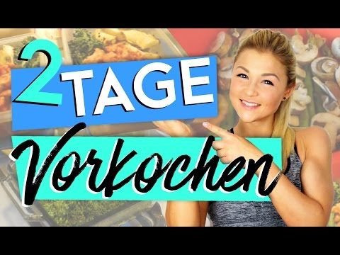 2 TAGE SPEED MEALPREP   FULL DAY OF EATING   VORKOCHEN - YouTube
