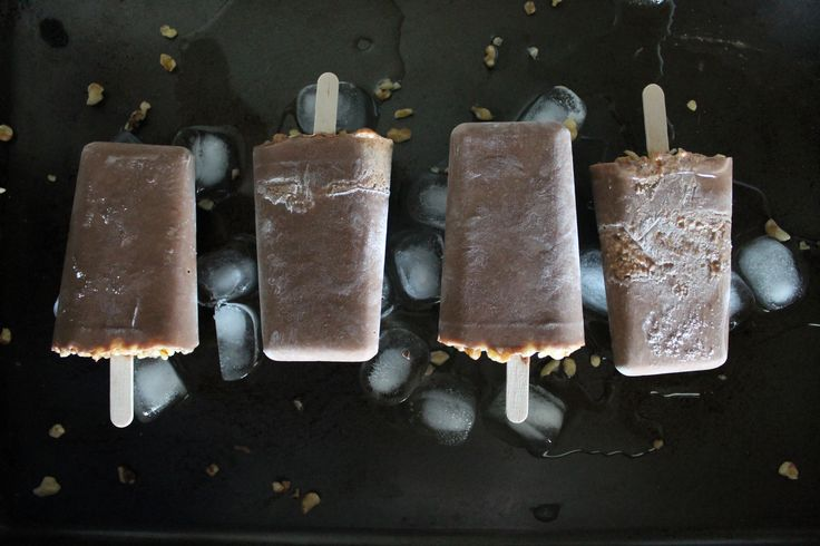 Fudgesicle à la noix de Grenoble
